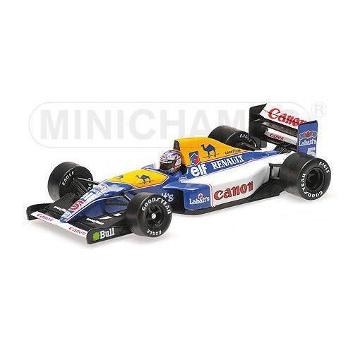 1/43 ワールドチャンピオン マンセル Nigel Mansell Williams Renault FW14B Team Williams Renault
