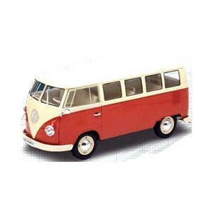 1/18 フォルクスワーゲン バス ウインドーバン 1963 Volkswagen T1 Bus Windows Van Welly ウェイリー