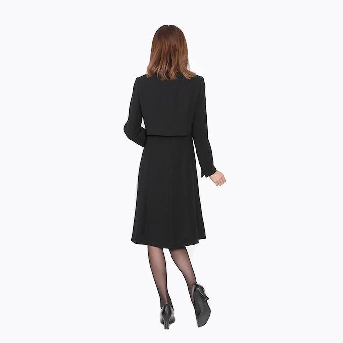 レンタル ボレロジャケットアンサンブル 喪服 礼服 レディース ワンピース 大きいサイズ  FOL-FX6P039A|r-rental|04