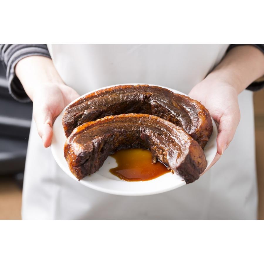 門外不出の「自家製秘伝たれ」でじっくりと煮込み蒸しあげた手作り焼豚。まるごと1本(満足の300g前後)|ra-mensekai|05