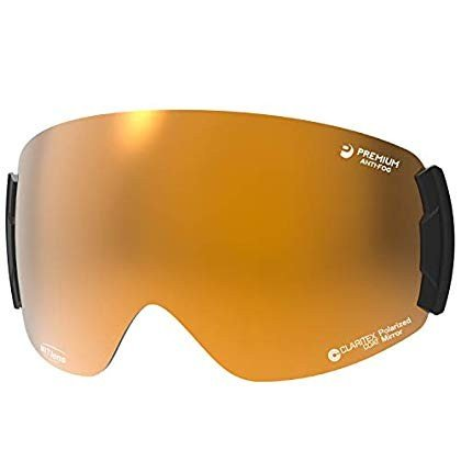 今年も話題の 国産ブランドSWANS(スワンズ) スキー スノーボード ゴーグル スペアレンズ プレミアムアンチフォグ MITミラー 偏光 撥水 ロヴォ用, オフィス文具堂 d0c5c84c