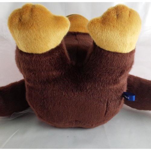 ぬいぐるみ人気の定番【ゴリラ】抱っこしやすい33センチのスタンダードサイズゴリラ。デザインから裁断縫製まで全行程国内自社工場で制作|rabbittail-net|09