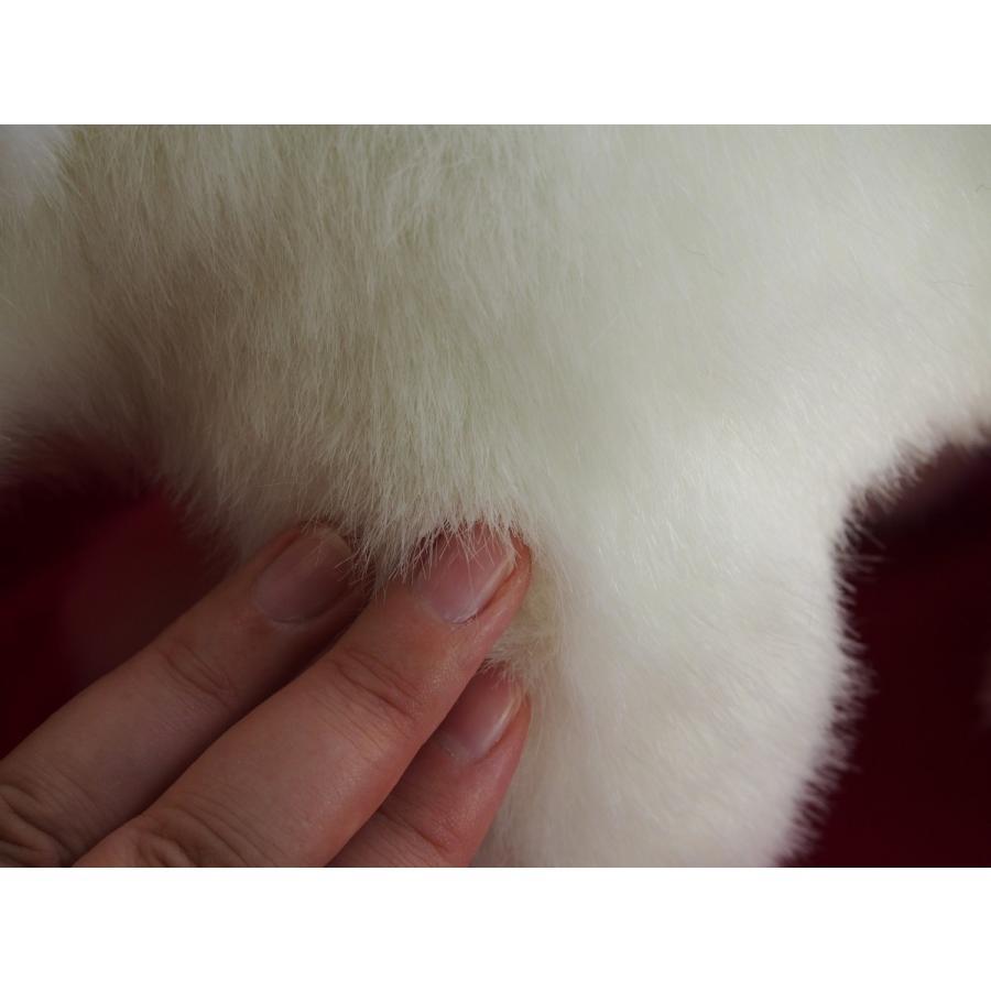 フワフワでモコモコなシロクマ(四つ足)/高さ24CM×全長43CM/しろくま rabbittail-net 06