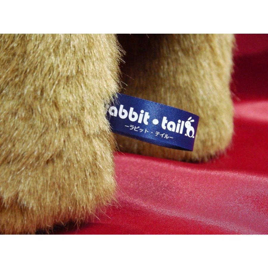 珍しい立ちクマ【フワフワチャグマ】デザインから裁断縫製まで全行程国内自社工場で制作/日本製/オリジナル/ぬいぐるみ/かわいい/無料ラッピング|rabbittail-net|04