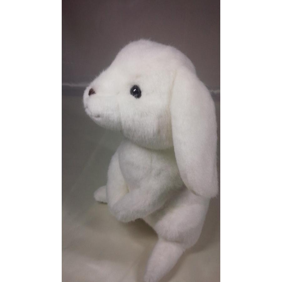 うさぎぬいぐるみ・白【31cm】ロップイヤー やさしいぬいぐるみ/大人気の日本製オリジナルロップイヤーがあなただけのオリジナルメッセージをお届けします rabbittail-net 02