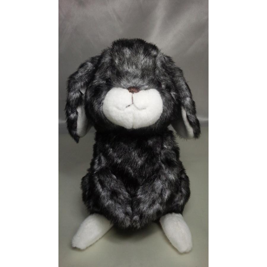 うさぎぬいぐるみ・グレー【31cm】ロップイヤーやさしいぬいぐるみ/大人気の日本製オリジナルロップイヤーがあなただけのオリジナルメッセージをお届けします|rabbittail-net|02