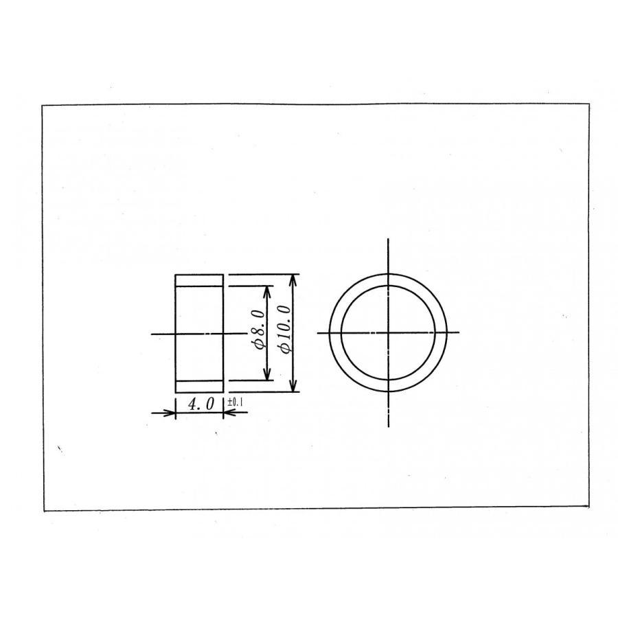 3Cケーブル用 アルミカシメリング200個入り|racimall|03