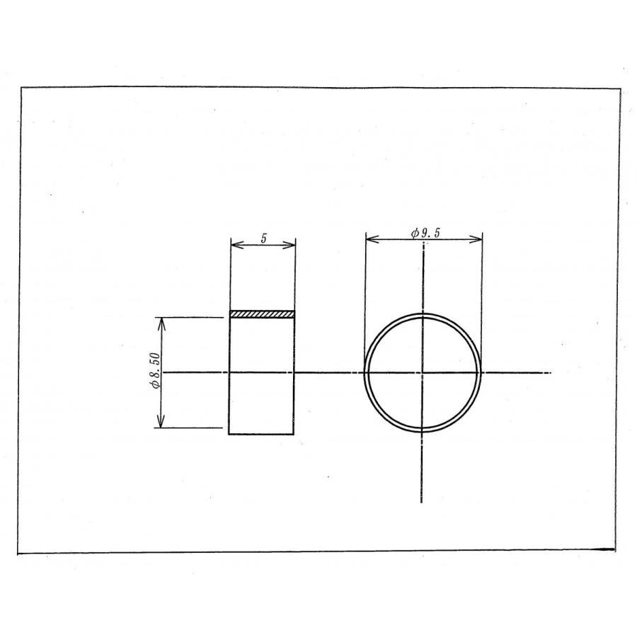 3・4Cケーブル用真ちゅうカシメリング200個入り racimall 02