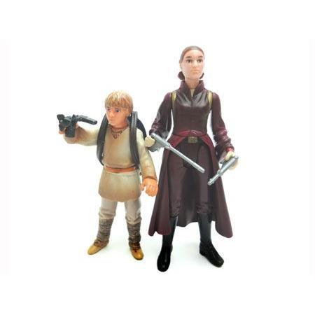 スターウォーズ スカイウォーカー&クィーン・アミダラ&C-3PO フィギュア 4体セット racimall 02