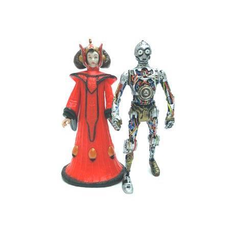 スターウォーズ スカイウォーカー&クィーン・アミダラ&C-3PO フィギュア 4体セット racimall 03