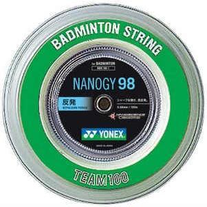 ヨネックスYONEXバドミントンガット・ストリングナノジー98 NANOGY98 【ロール100m】【バドミントン ガットロール】 badminton