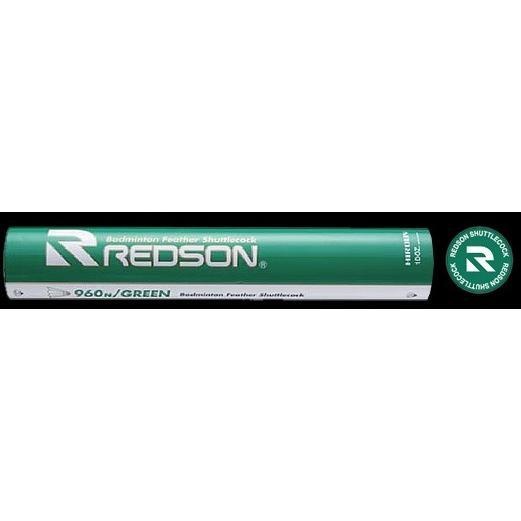 【送料込!!】レッドソン赤SON水鳥バドミントンシャトル RS-960N グリーン緑 10ダース 【バドミントン シャトル レッドソン バトミントン まとめ買い】