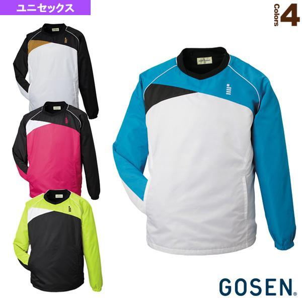 ゴーセン テニス・バドミントンウェア(メンズ/ユニ) ハードブレーカー/裏起毛/ユニセックス(Y1500)バドミントンウェア男性用