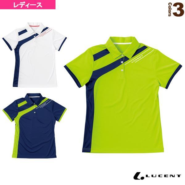 ルーセント テニス・バドミントンウェア(レディース) ゲームシャツ/レディース(XLP-489)