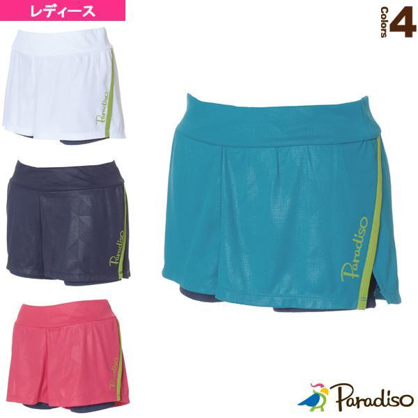 パラディーゾ テニス・バドミントンウェア(レディース) ショートパンツ/インナースパッツ付/レディース(QCL65S)