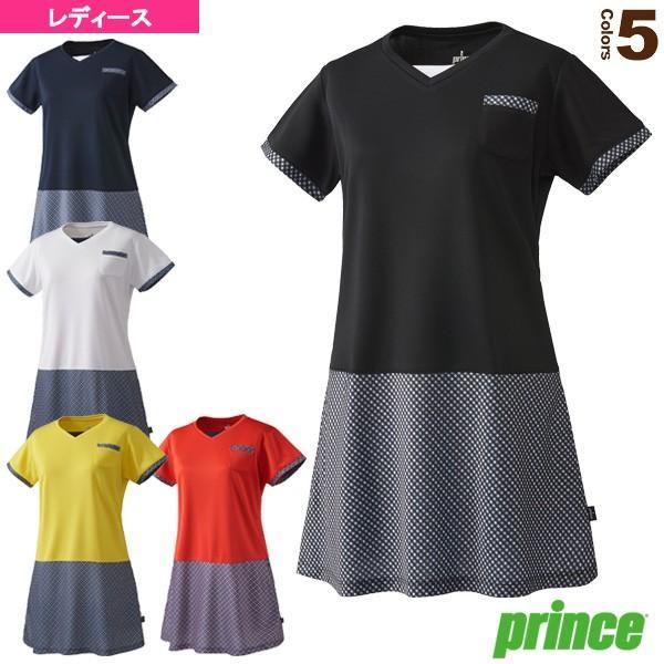 プリンス テニス・バドミントンウェア(レディース) ワンピース/レディース(WL8414)テニスウェア女性用