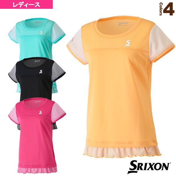 スリクソン テニス・バドミントンウェア(レディース) ゲームシャツ/レディース(SDP-1726W)テニスウェア女性用