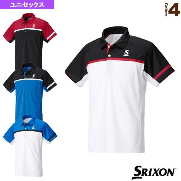 スリクソン テニス・バドミントンウェア(メンズ/ユニ) ポロシャツ/ユニセックス(SDP-1744)テニスウェア男性用