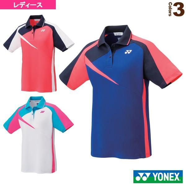 ヨネックス テニス・バドミントンウェア(レディース) ゲームシャツ/レギュラータイプ/レディース(20495)