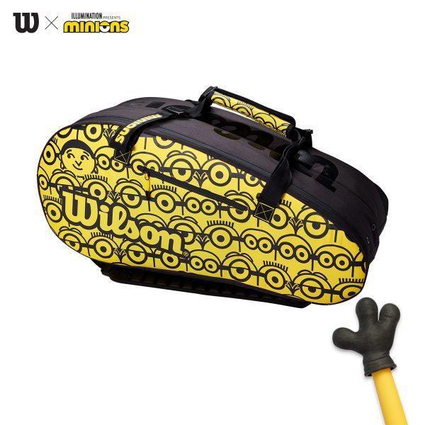 ウィルソン ミニオンズ ツアー12PK ラケットバック Wilson MINIONS TOUR 12PK RACKET BAG WR8013701001 テニス ラケット バック【数量限定品】