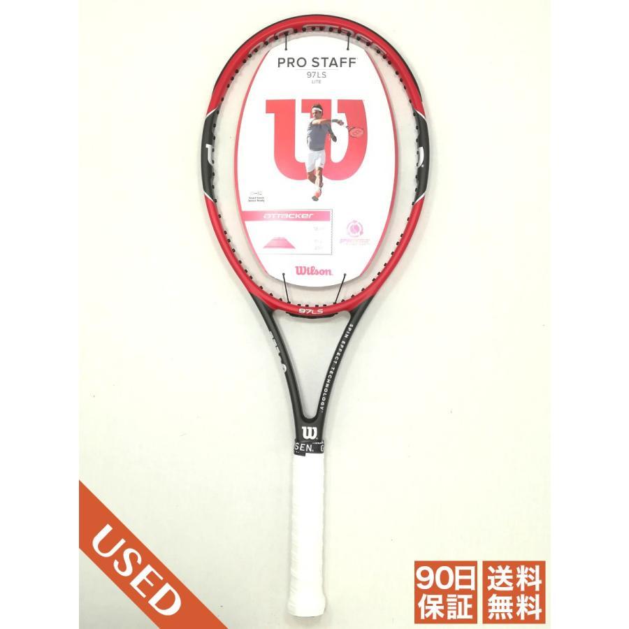 中古/90日保証 Sランク プロスタッフ97LS 2015 G2 ウィルソン PRO STAFF 97 LS Wilson 硬式テニスラケット 1850