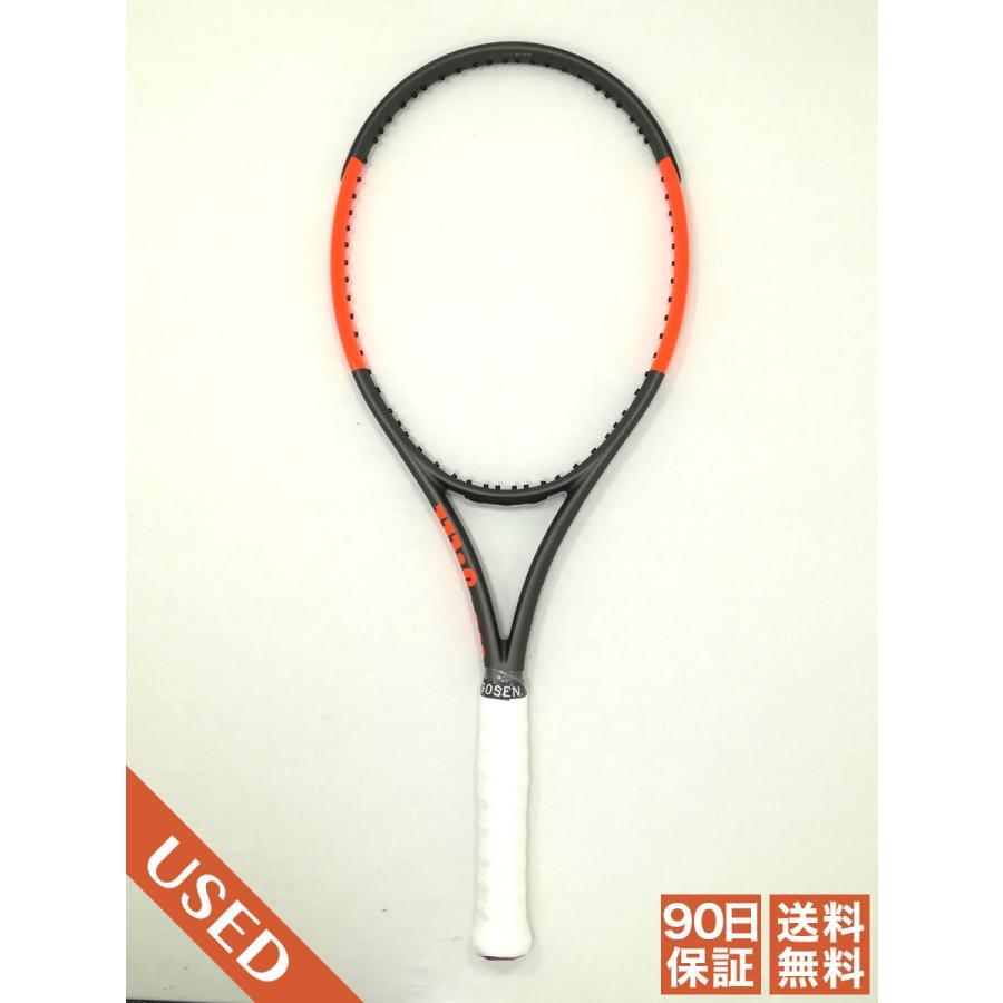 中古/90日保証 Bランク バーン100CV 2017 G2 ウィルソン BURN 100 CV Wilson 硬式テニスラケット 297