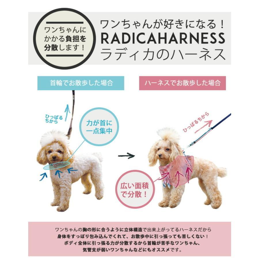セール SALE 犬 ハーネス ラディカ RADICAハーネス(リード付き) S Mサイズ 胴輪 メール便可|radica|11