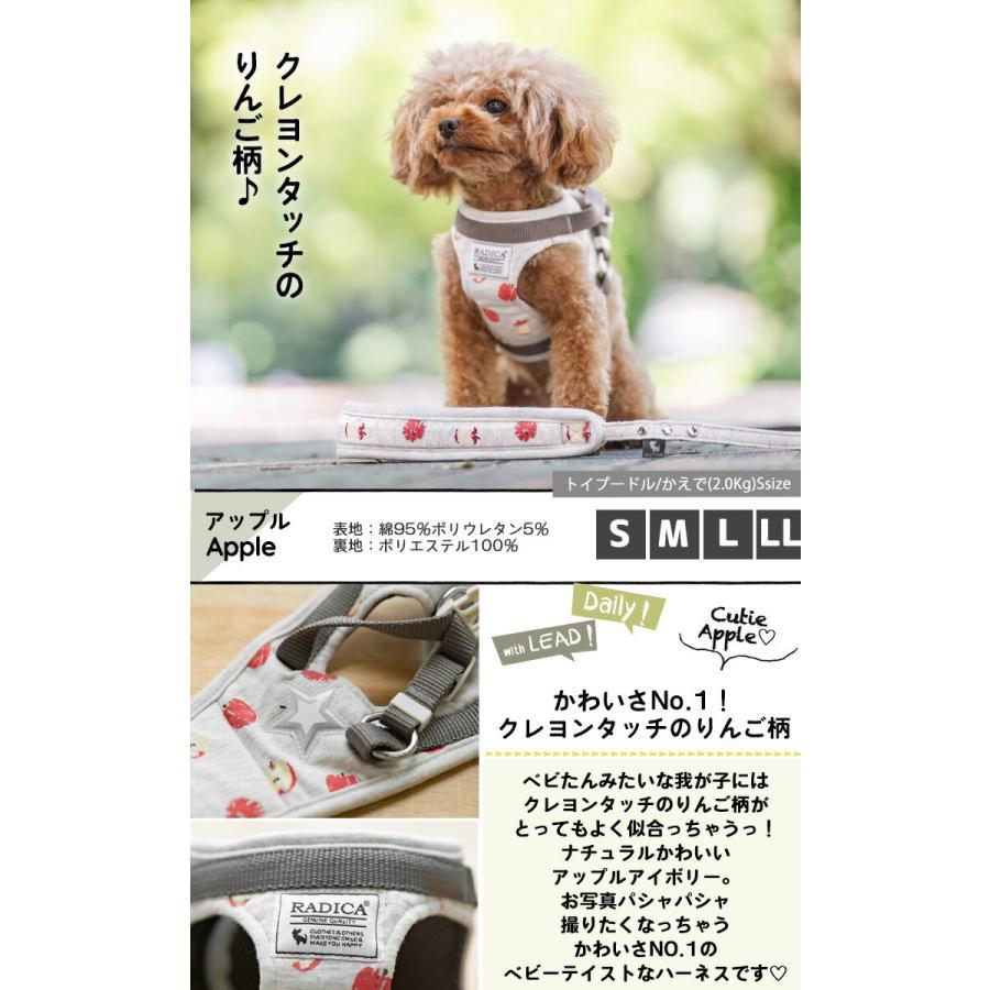 セール SALE 犬 ハーネス ラディカ RADICAハーネス(リード付き) S Mサイズ 胴輪 メール便可|radica|13