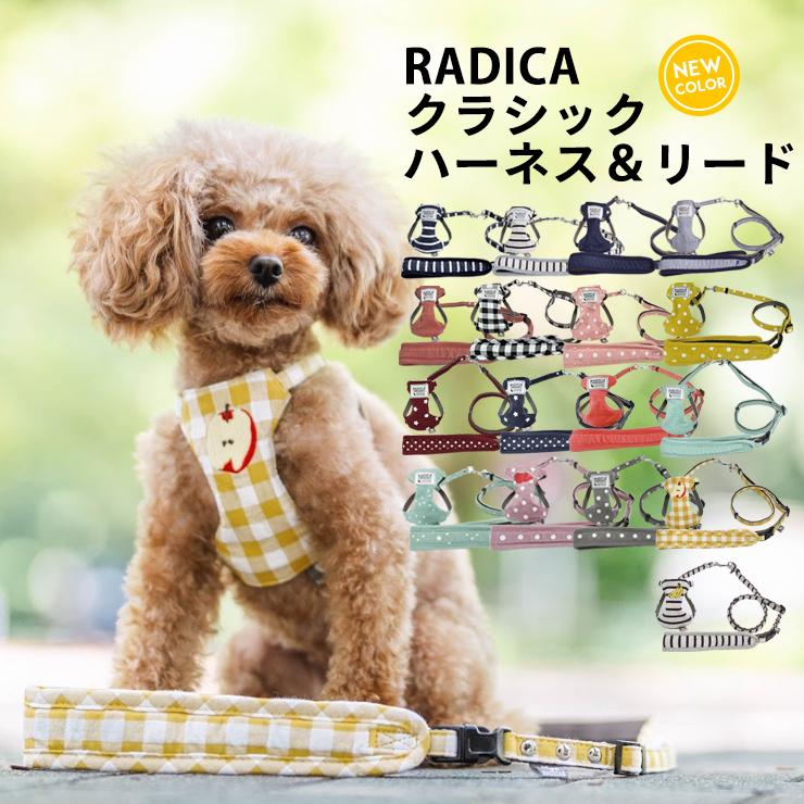新色入荷 セール SALE 犬 ハーネス ラディカ RADY クラシックハーネス&リード 犬の胴輪 メール便可|radica