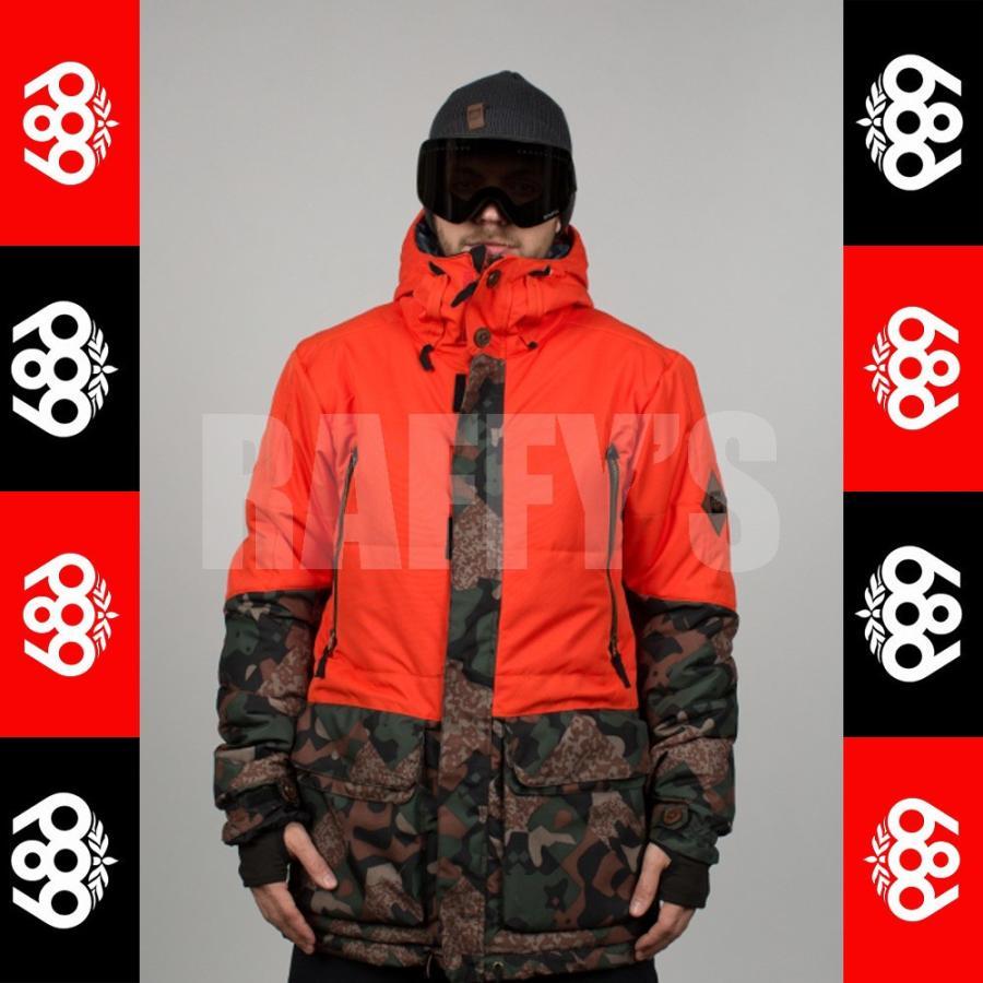 15-16 686 スノーボード メンズ ウェア PARKLAN Myth Insulated Jacket ジャケット
