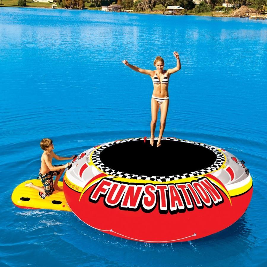 SPORTSSTUFF スポーツスタッフ 10ft(3メートル)FUNSTATION 水上トランポリン ウォータートイ 送料無料