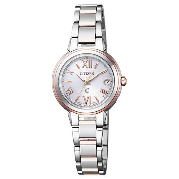 新規購入 シチズン CITIZEN 腕時計 ES9434-53W XC クロスシー HAPPY FLIGHT ハッピーフライト 電波ソーラー レディース, アサヒカルピスウェルネスショップ ee823ac7