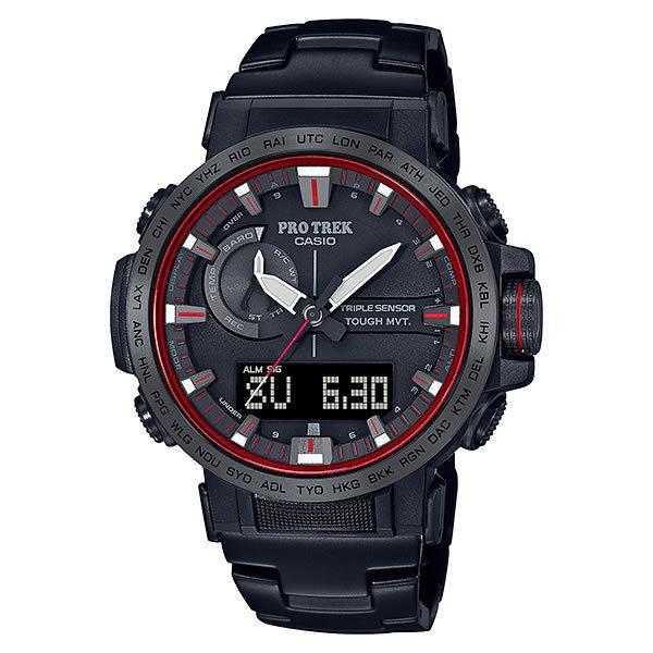 カシオ CASIO 腕時計 PRW-60YT-1JF PRO TREK プロトレック 電波ソーラー 炎の滝 ファイヤー·フォール メンズ