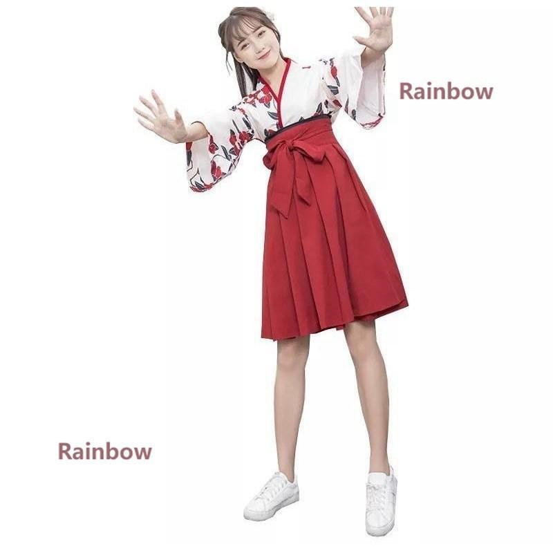 和服 着物 ドレス 花柄 ロリータ ロリィタ服 大きめ かわいい 無地 ゴスロリ コスプレ 大人用 衣装 ハロウィン rainbow-onlineshop 09