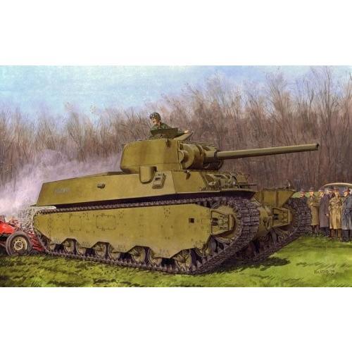 ドラゴン(黒 LABEL) BL6789 1/35 WW.II アメリカ陸軍 M6A1 重戦車