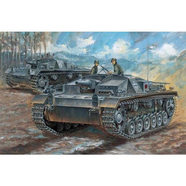 ドラゴン 7553 1/72 ドイツ軍 III号突撃砲 C/D型|rainbowten