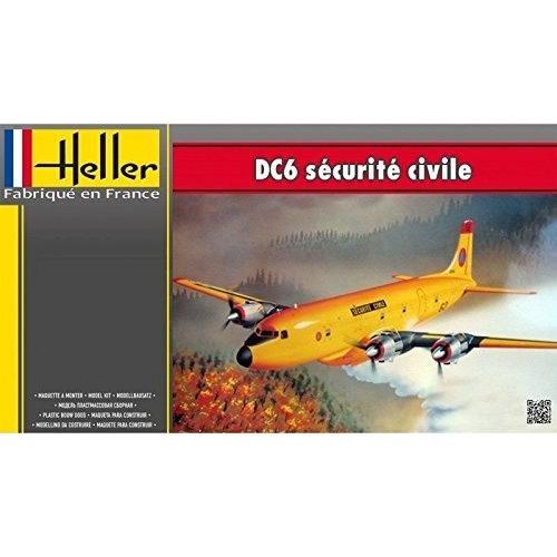 エレール 80330 1/72 DC-6 セキュリティーシビル rainbowten