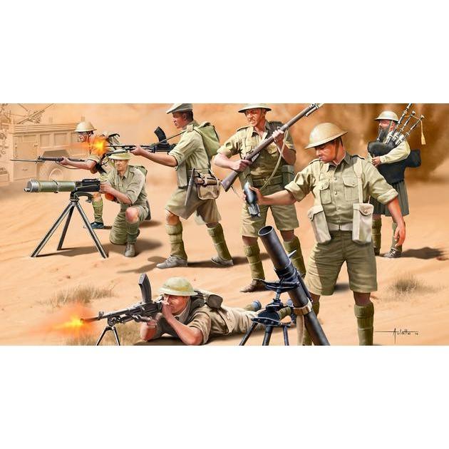 ドイツレベル 2617 1/76 WWII イギリス第8軍 歩兵|rainbowten