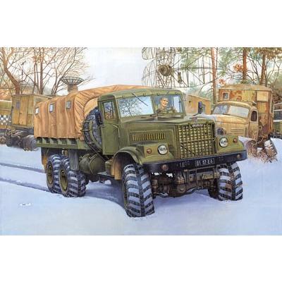 ローデン 805 1/35 露 クァーズ KrAZ255B 6輪重トラック 1970年代