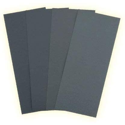 ゴッドハンド KY-4B 紙ペーパーB 耐水性紙ヤスリセット P1000/P1200/P1500/P2000 各1枚入り|rainbowten