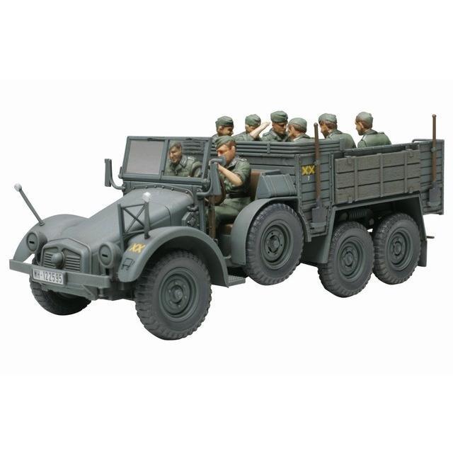 タミヤ 32534 48MM34 1/48 ドイツ クルッププロッツェ 6輪軽トラック rainbowten