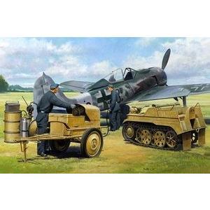 タミヤ 32533 48MM33 1/48 ドイツ航空機用電源車 ケッテンクラート牽引セット|rainbowten|03