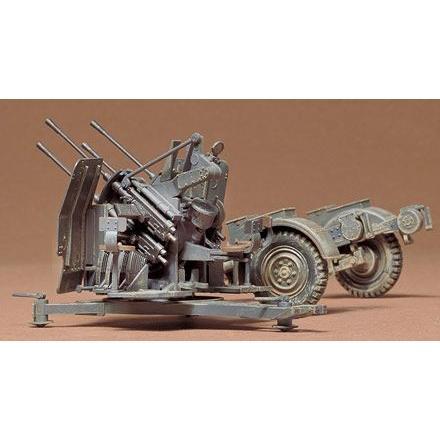 タミヤ MM091 1/35 ドイツ 2cm4連装高射砲 38型|rainbowten|02