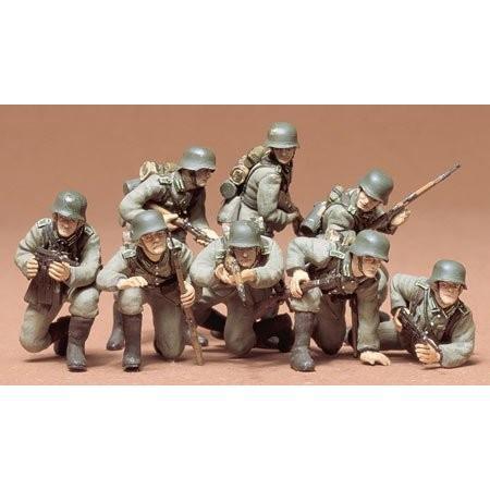 タミヤ MM061 1/35 ドイツ歩兵 進撃セット|rainbowten|02