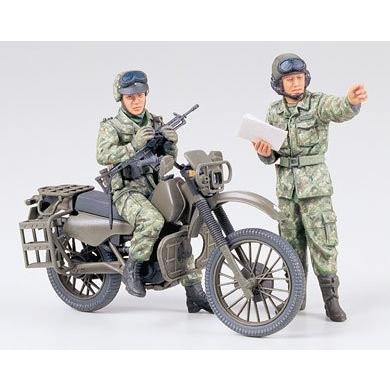 タミヤ MM245 1/35 陸上自衛隊オートバイ偵察セット|rainbowten|02