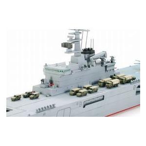 タミヤ 006 1/700 海上自衛隊輸送艦 LST-4002 しもきた rainbowten 03