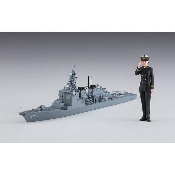 ハセガワ SP452 1/700 海上自衛隊 護衛艦 みょうこう w/女性自衛官 フィギュア(1/20) rainbowten 02
