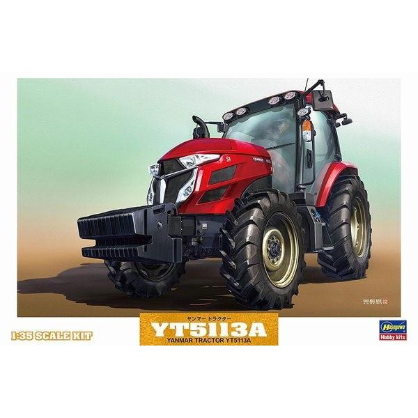 ハセガワ WM05 1/35 ヤンマー トラクター YT5113A|rainbowten