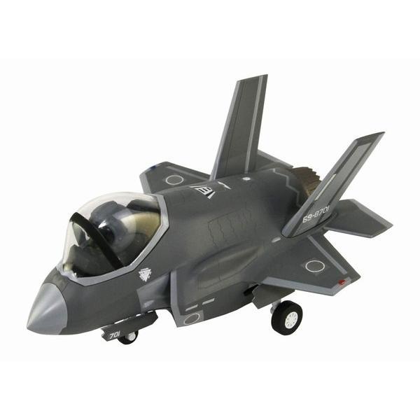 グレートウォールホビー LDP デフォルメプレーン 航空自衛隊 戦闘機 F-35A (はめ込み式) rainbowten