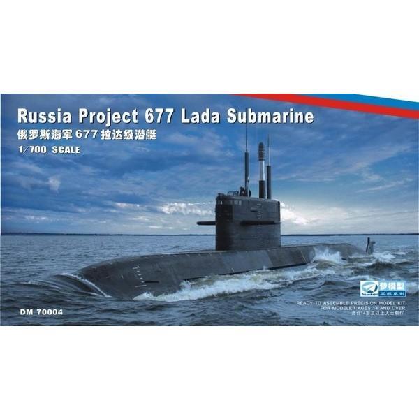 ドリームモデル(ピットロード) DM7004 1/700 ロシア海軍 ラーダ級潜水艦(2隻入) rainbowten